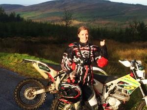 Ciara Luke Offroad Motorcycling