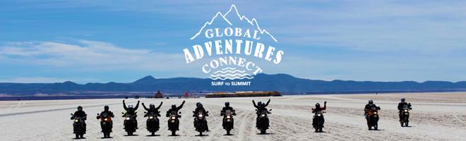 Global Adventures Connect Bikers