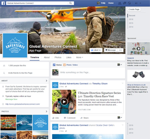 Global Adventures Connect Facebook Page