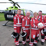 MARTYS charities Scottish Air Ambulance