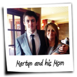 Martyn and his Mom