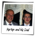 Martyn and his Dad