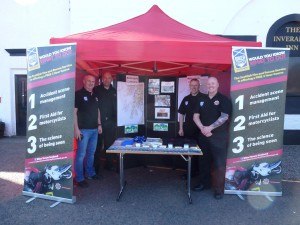 The Team at Biker Down Scotland